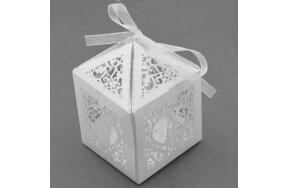 FAVOR CANDY WEDDING BOX SET/50pcs